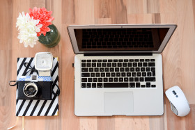 Free photo of Personal Computer, Laptop, Computer, Office Equipment and White