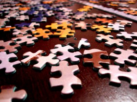 Free photo of Brown, Jigsaw Puzzle, Food, Art and Textile