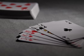 Free photo of Poker, Indoor Games And Sports, Gambling, Rectangle and Font