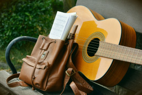 Free photo of Guitar, Product, Musical Instrument, Folk Instrument and Guitar accessory