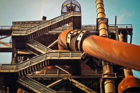 Free photo of Building, Pipeline Transport, Sky, Engineering and World