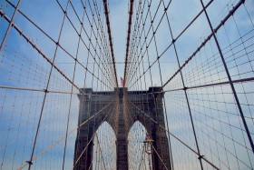 Free photo of Daytime, Electricity, Sky, Cable-stayed Bridge and Line