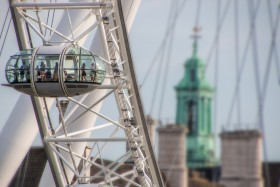 Free photo of Ferris Wheel, Electricity, Sky, City and Engineering